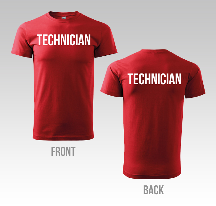 T- Shirt TECHNICIAN